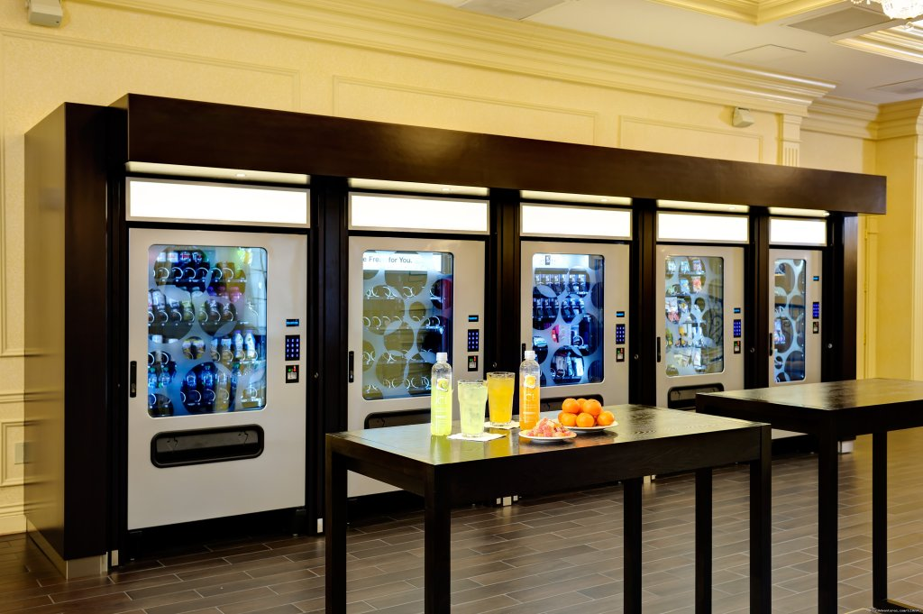 Convenient Self-Serve Snack and Office Supply Vending | Image #4/10 | Your Success Matters at the Crowne Plaza Portland