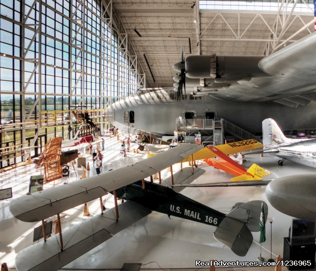 Spruce Goose (#1 of 1) - Evergreen Aviation & Space Museum