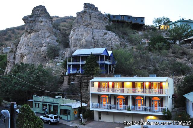 Dusk at Copper City Inn (#4 of 7) - Copper City Inn in cool mile high Bisbee