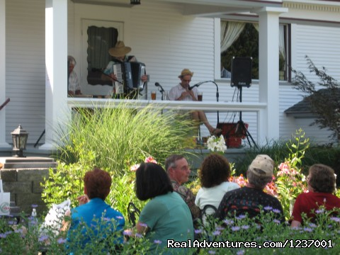 Music on the patio at The Gorge White House (#5 of 11) - Relax in days gone by at The Gorge White House