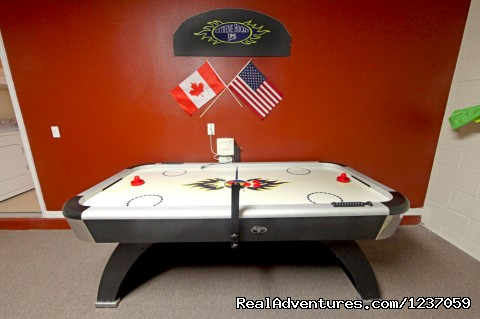Air Hockey Table - Comforts of Home