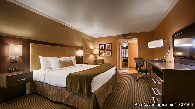 Deluxe King Room with Free wifi - BEST WESTERN Royal Sun Inn & Suites