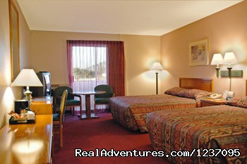 Standard Room with 2 Queen Beds - Executive Inn & Suites of Tucson