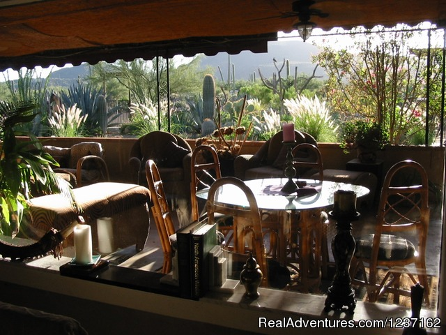 Veranda - A Wild Purple Ranch & Retreat