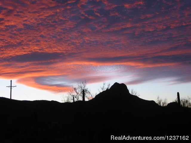 Spectacular Desert Sunsets - A Wild Purple Ranch & Retreat