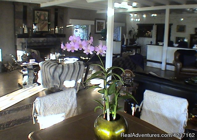 Living Room - A Wild Purple Ranch & Retreat