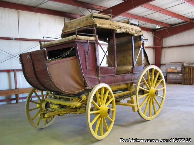 1850's MudWagon Stage Coach - Tucson Rodeo Parade Museum