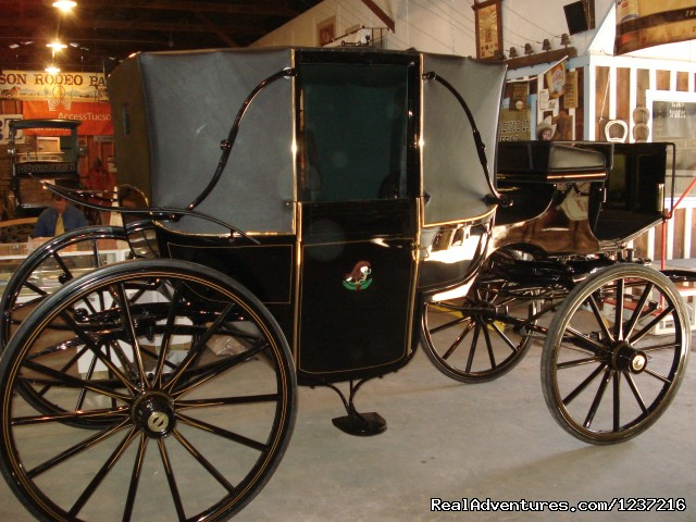 Maximilian & Carlotta Coronation Carriage - Tucson Rodeo Parade Museum