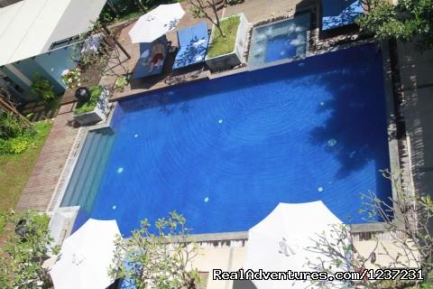 Pool  - Frangipani Villa Hotel- Angkor Wat, Siem Reap