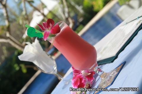 Bar Service  - Frangipani Villa Hotel- Angkor Wat, Siem Reap