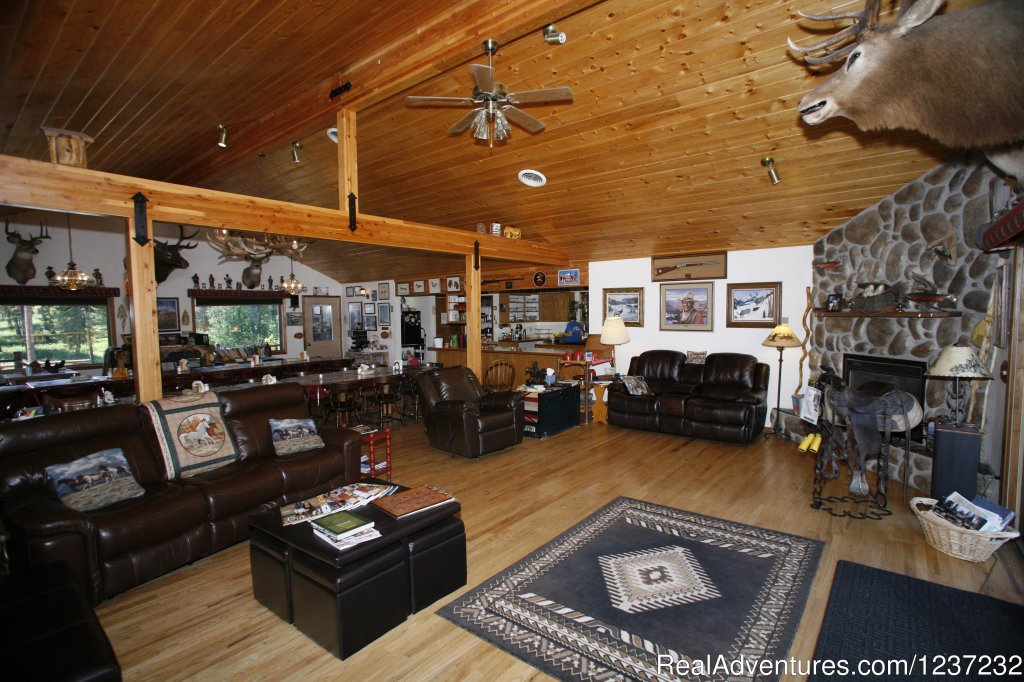 Main Lodge Interior | Image #9/20 | Horseback Riding Adventures