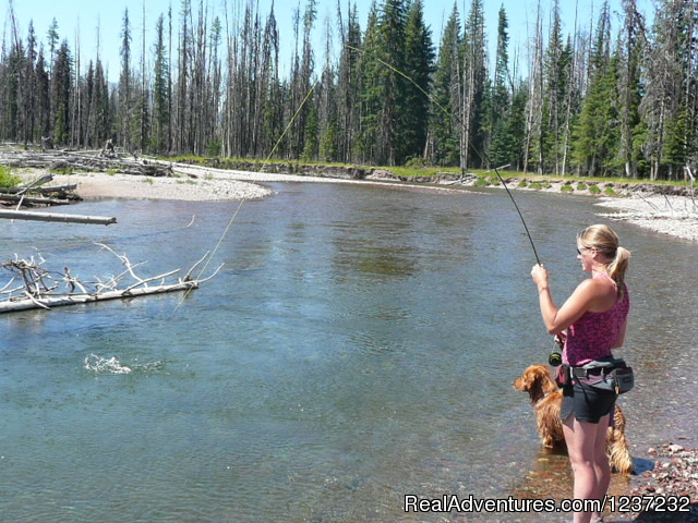 Fly Fishing - Horseback Riding Adventures