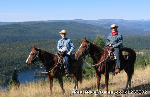 Riders from 6 - 80 enjoy our mountian horses - Horseback Riding Adventures