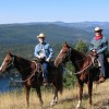 Riders from 6 - 80 enjoy our mountian horses