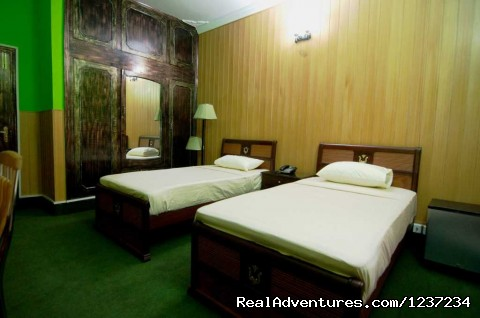 TwinRoom view at Rooms alike Hotel Guest House in Islamabad - RooMs Islamabad