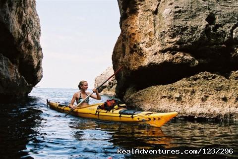 Image #3 of 6 - Adventure sea kayaking week in Croatia