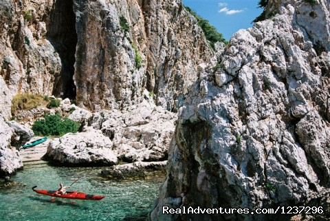 - Adventure sea kayaking week in Croatia