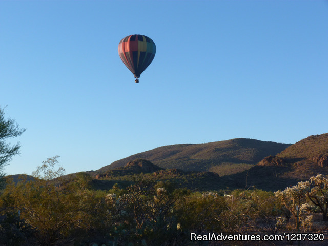 Tucson Mountain Balloon Rides with Fleur de Tucson