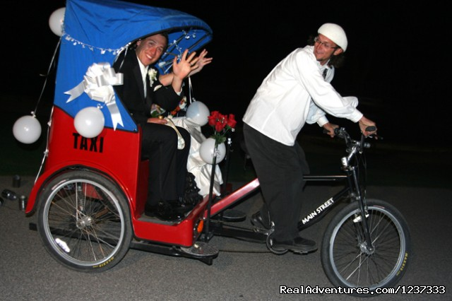 Tubac's Pedicab Shuttle Service - Spirit Steps Tours