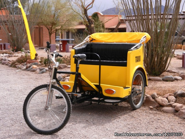 Tubac's Pedicab Eco-Taxi Service (#4 of 6) - Spirit Steps Tours