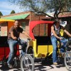 Tubac's  Pedicab Tour Guides