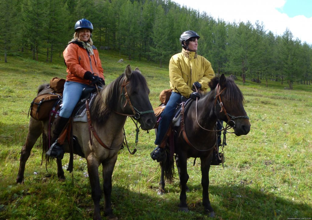 Horse Riding Mongolia, Eco Tourism Adventures - at Stone Horse, we offer horse treks in two of Mongolia's premier parks. Experience magnificent wilderness, scenic pastoral landscapes, herders life. Visit historic sites. Small groups only. Low impact.