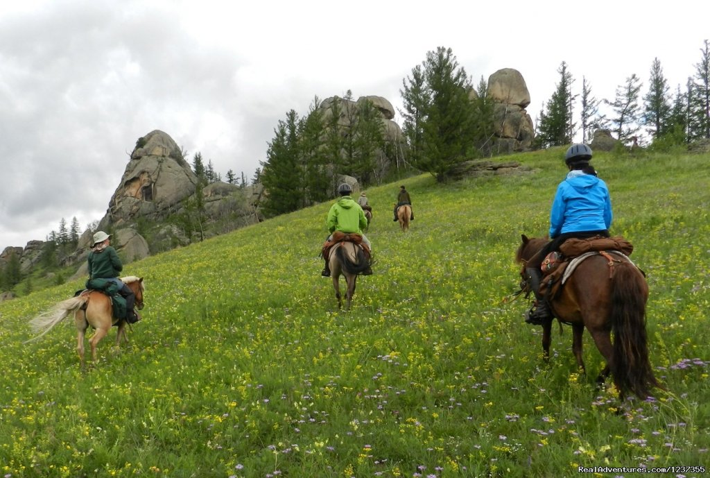 Stone Horse Expeditions & Travel, Exploring the Park | Image #5/26 | Mongolia Horseback Riding Tours  with Stone Horse