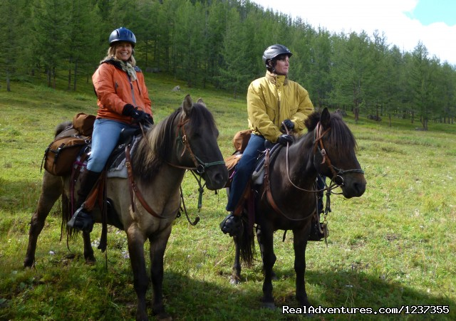 Mongolia Horseback Riding Tours  with Stone Horse