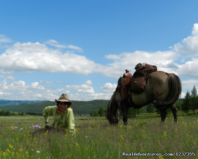 Stone Horse Expeditions & Travel, Snack Stop - Mongolia Horseback Riding Tours  with Stone Horse