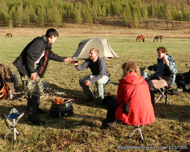 Stone Horse Expeditions & Travel, Happy Hour.. - Mongolia Horseback Riding Tours  with Stone Horse