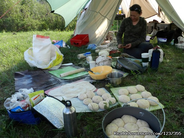 Stone Horse Expeditions & Travel, Camp Kitchen - Mongolia Horseback Riding Tours  with Stone Horse