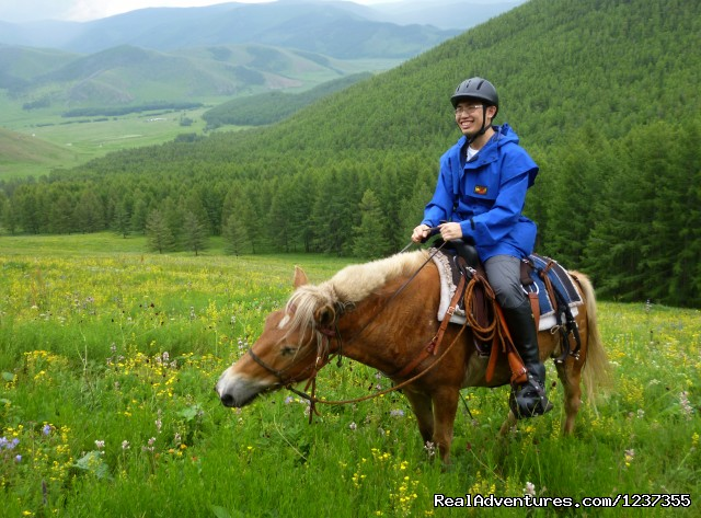 Stone Horse Expeditions & Travel, Horse and Rider - Mongolia Horseback Riding Tours  with Stone Horse