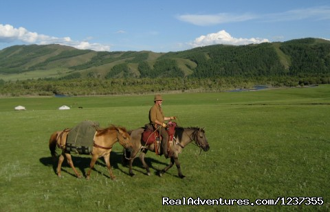Stone Horse Expeditions & Travel, Pack Trip in Terelj