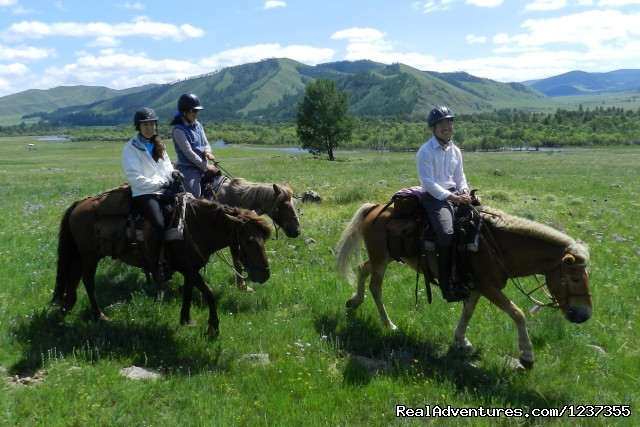 Stone Horse Expeditions & Travel, Riding Guests - Mongolia Horseback Riding Tours  with Stone Horse