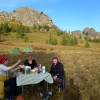 Stone Horse Expeditions & Travel, Dinner Table