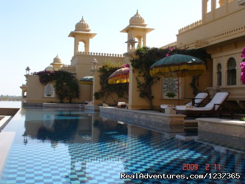 Udai Vilas Hotel - Private Pool Villa (#4 of 16) - Gay Tours to India Nepal & Bhutan
