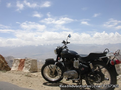 Bullet Motorcycle - Gay Tours to India Nepal & Bhutan