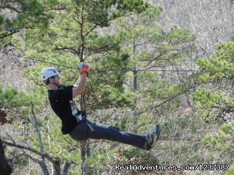 Zip lining in East Texas (#2 of 5) - Thrilling Action Packed ZipLine Adventure Tour