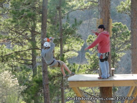 East Texas Zip Line Tour (#3 of 5) - Thrilling Action Packed ZipLine Adventure Tour