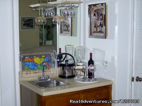 Wet Bar off of Dining Area - OCEAN RESORT w/Largest Pool On Island On Beach