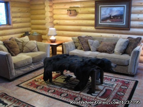 Main Entry - Upscale Lodging on the Kenai River, Alaska