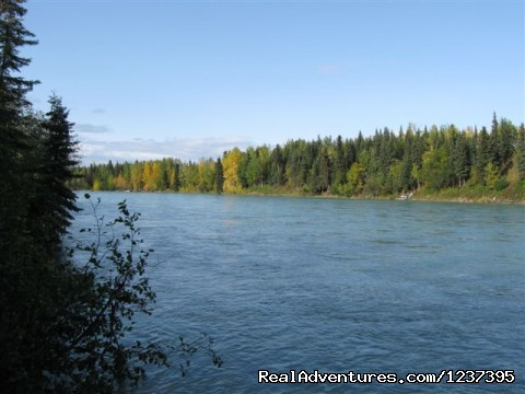 Kenai River (180 foot of frontage) - Upscale Lodging on the Kenai River, Alaska