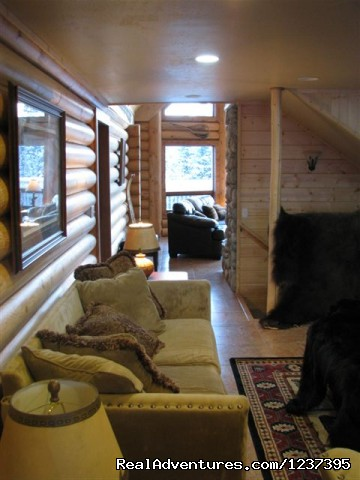 Main Entry - MLR - Upscale Lodging on the Kenai River, Alaska