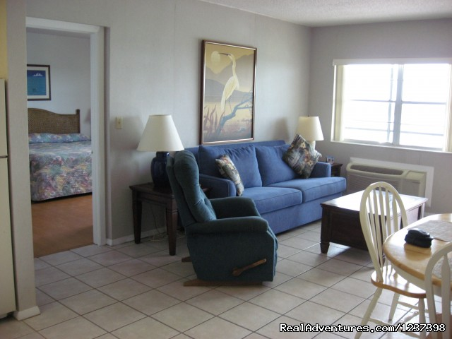 Living Room - Anchorage Resort and Yacht Club Condo Assoc.