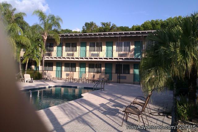 Caribbean style facing courtyard/pool - Rodeway Inn & Suites