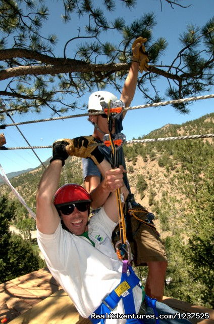 Mountaintop Zip Lining Year Round (#2 of 4) - AVA Rafting and Mountaintop Zipline Tours