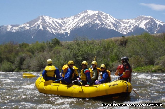 Family Whitewater Rafting Trips - AVA Rafting and Mountaintop Zipline Tours