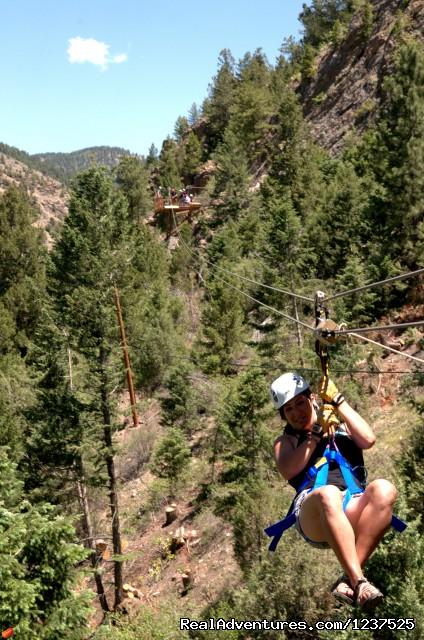 Mountaintop Ziplining Near Denver (#4 of 4) - AVA Rafting and Mountaintop Zipline Tours