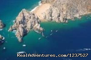 Air view of Los Cabos landmark - Los Cabos Private Transportation and Transfer