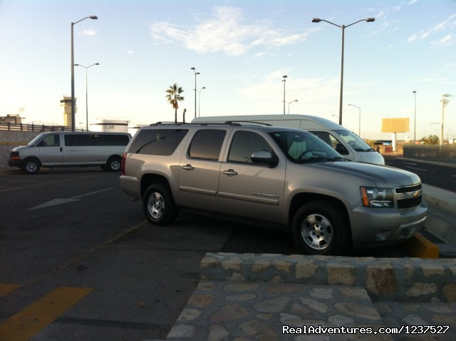 Our vehicles - Los Cabos Private Transportation and Transfer